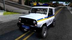 УАЗ Hunter Милиция Украины