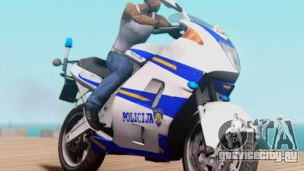 Croatian Police Bike для GTA San Andreas