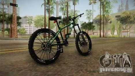 GTA 5 Scorcher для GTA San Andreas вид сзади слева
