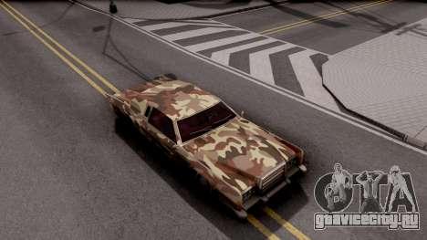 New Paintjob for Remington v2 для GTA San Andreas вид справа