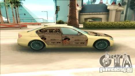 BMW 435 2014 для GTA San Andreas вид слева