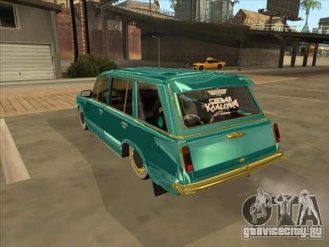 VAZ 2102 Cuban Style для GTA San Andreas вид сзади слева