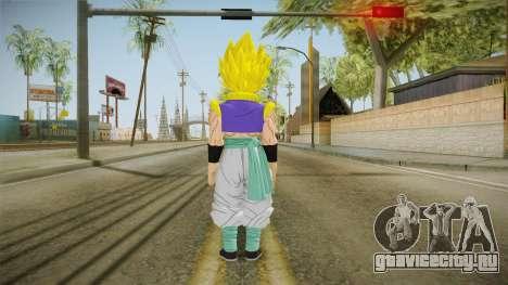 DBX2 - Gotenks SSJ для GTA San Andreas третий скриншот