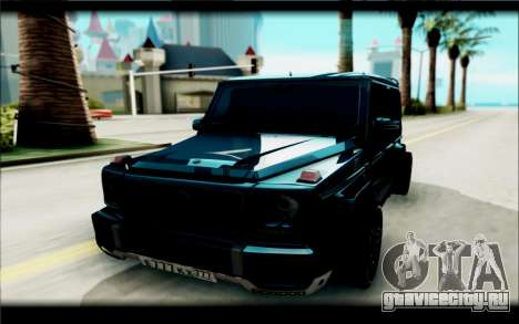 Mercedes-Benz G63 AMG для GTA San Andreas вид справа