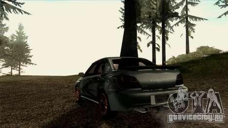 2001 Subaru Impreza WRX v 1.1 IVF [Tunable] для GTA San Andreas вид сзади