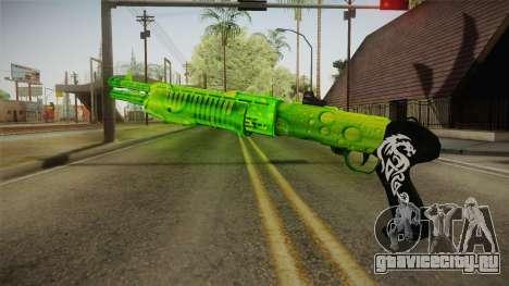 Green Weapon 3 для GTA San Andreas второй скриншот
