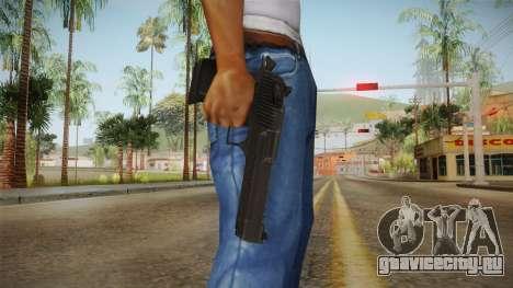 Desert Eagle Black для GTA San Andreas третий скриншот