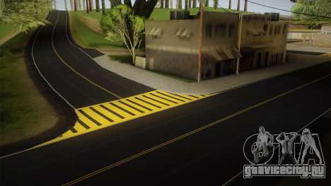 8K Country Road Textures для GTA San Andreas