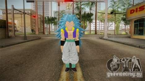 DBX2 - Gotenks SSJB3 для GTA San Andreas второй скриншот