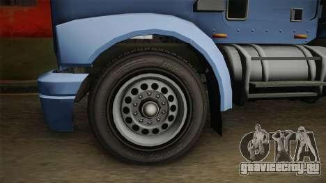 GTA 5 MTL Car Hauler SA Style для GTA San Andreas вид сзади