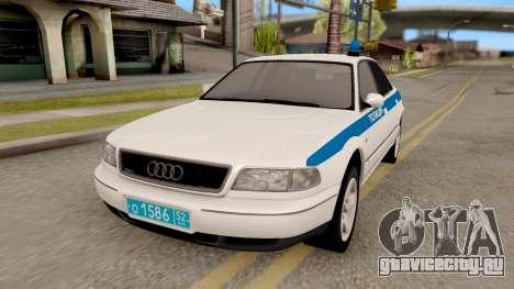 Audi A8 Russian Police для GTA San Andreas