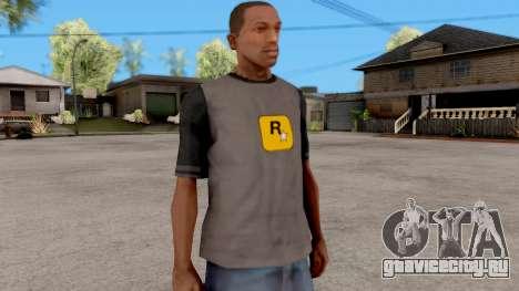 Rockstar T-Shirt для GTA San Andreas