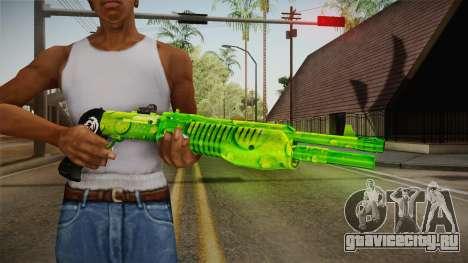 Green Weapon 3 для GTA San Andreas третий скриншот