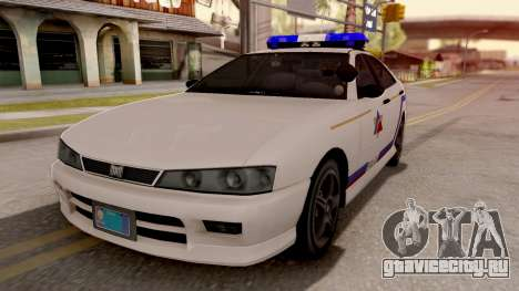 Dinka Chavos Hometown PD 2007 для GTA San Andreas