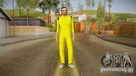 GTA LCS - Tony Yellow Jump Suit для GTA San Andreas второй скриншот