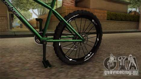 GTA 5 Scorcher для GTA San Andreas вид сзади