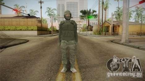 GTA Online: Army Skin для GTA San Andreas второй скриншот