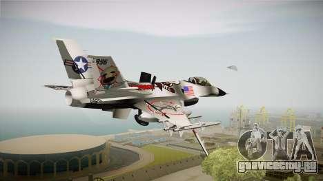 FNAF Air Force Hydra Puppet для GTA San Andreas вид слева