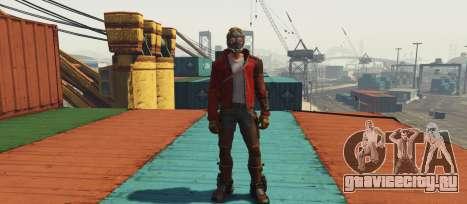 GOTG Star-lord для GTA 5 второй скриншот
