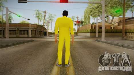 GTA LCS - Tony Yellow Jump Suit для GTA San Andreas третий скриншот