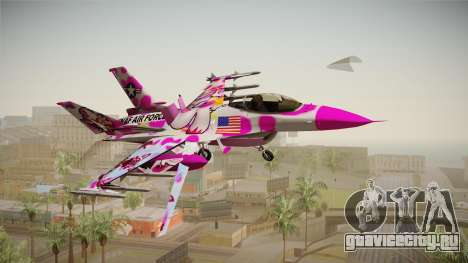 FNAF Air Force Hydra Funtime Foxy для GTA San Andreas
