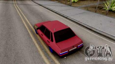 Ваз 21099 BlackOnyx для GTA San Andreas вид сзади