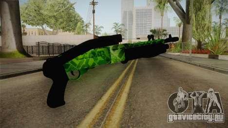 Green Spas-12 для GTA San Andreas третий скриншот