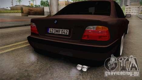 BMW 730i E38 Danker для GTA San Andreas вид сбоку