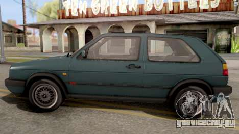 Volkswagen Golf 2 GTI для GTA San Andreas вид слева