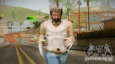 Logan Wolverine v1 для GTA San Andreas