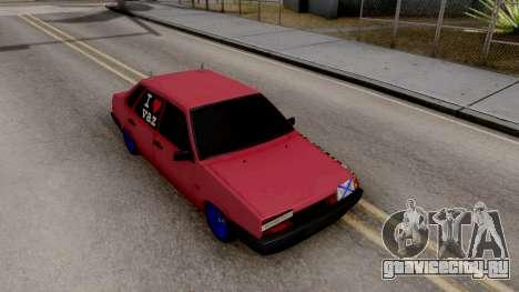 Ваз 21099 BlackOnyx для GTA San Andreas вид справа