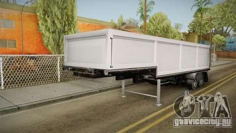 Volvo FH16 660 8x4 Convoy Heavy Weight Trailer 2 для GTA San Andreas