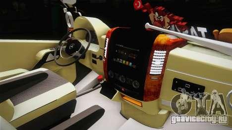 Mercedes-Benz Sprinter v3 для GTA San Andreas вид изнутри