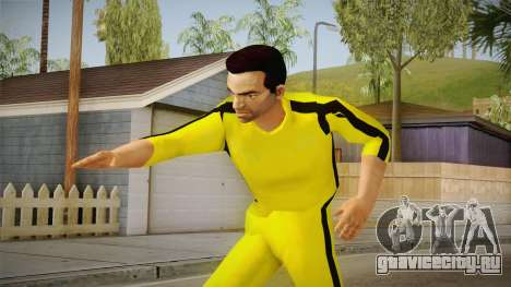 GTA LCS - Tony Yellow Jump Suit для GTA San Andreas