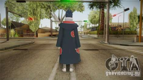 NUNS4 - Sasuke Akatsuki Mangekyou Sharingan для GTA San Andreas