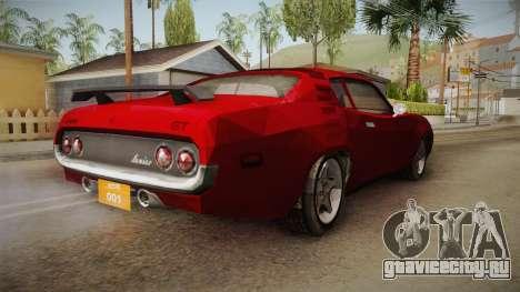 Driver: PL - Cerrano для GTA San Andreas вид сзади слева