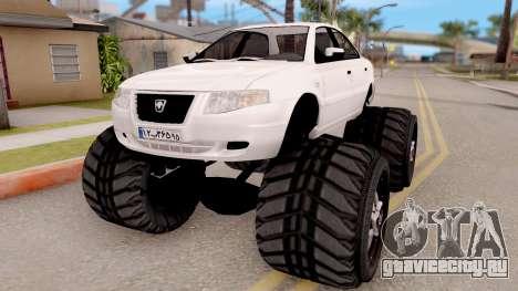 IKCO Samand Soren Monster для GTA San Andreas