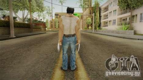 Logan Wolverine v1 для GTA San Andreas третий скриншот