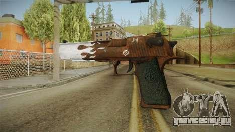 CS:GO - Desert Eagle Corroden для GTA San Andreas второй скриншот