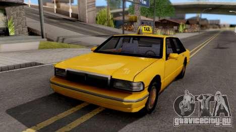 Taxi New Texture для GTA San Andreas
