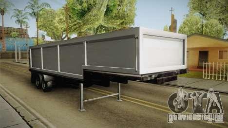 Volvo FH16 660 8x4 Convoy Heavy Weight Trailer 2 для GTA San Andreas вид справа