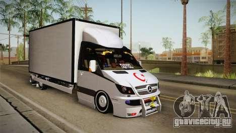 Mercedes-Benz Sprinter v3 для GTA San Andreas вид справа
