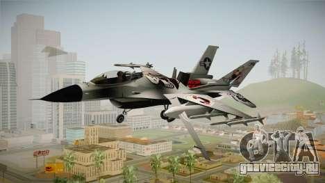 FNAF Air Force Hydra Puppet для GTA San Andreas вид сзади слева