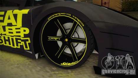Lamborghini Gallardo Philippines для GTA San Andreas вид сзади