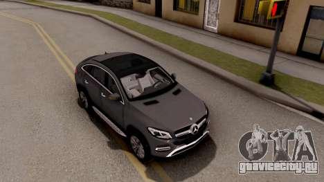 Mercedes-Benz GLE 350d для GTA San Andreas вид справа