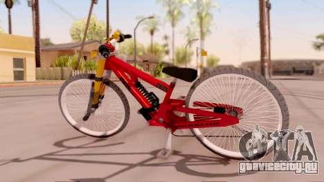 NOX Cycles Mountainbike для GTA San Andreas вид слева