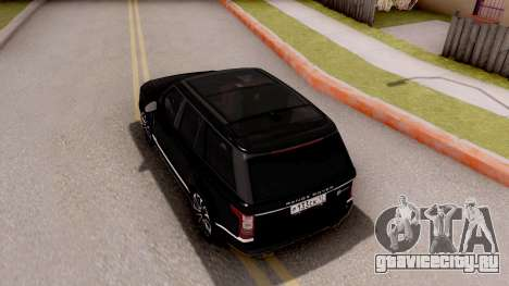 Range Rover SVA для GTA San Andreas
