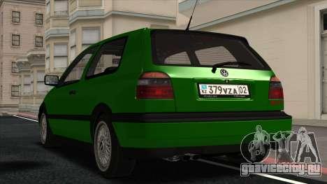 Volkswagen Golf Mk3 1997 для GTA San Andreas вид справа