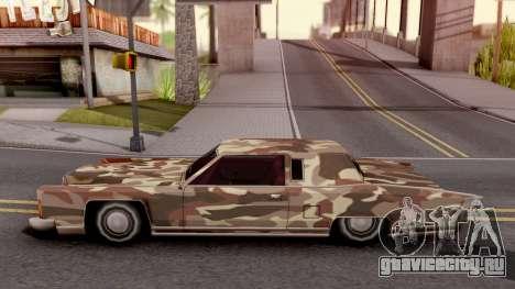 New Paintjob for Remington v2 для GTA San Andreas вид слева