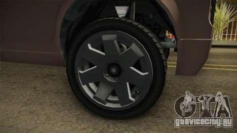 EFLC TBoGT Super Drop Diamond для GTA San Andreas вид сзади